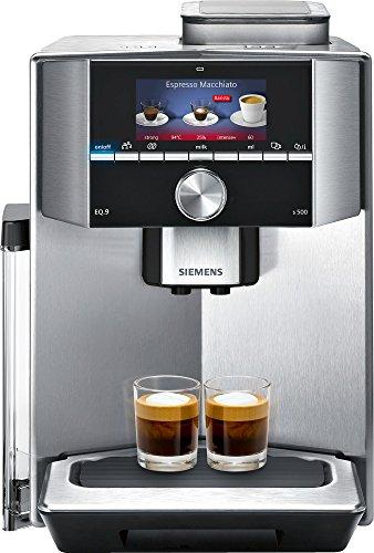 Siemens EQ9 TI905201RW Super Fully Automatic Espresso Machine Coffee Capuccino Latte Maker OneTouch DoubleCup System SIlver