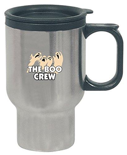 The Boo Crew Stunning Ghost Image Design Nice Trendy - Travel Mug