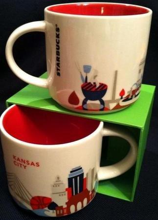 Starbucks Mug You Are Here Collection - Kansas City