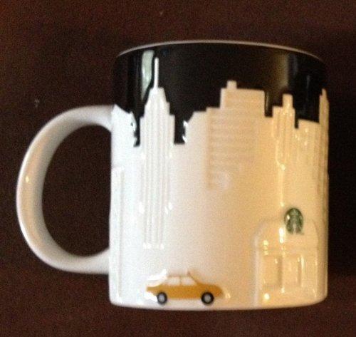 Starbucks New York Taxi Edition Mug 16 oz
