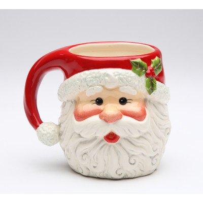 Santa 10 oz Mug Set of 4