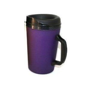 34 Oz ThermoServ Foam Insulated Coffee Mugs - Purple