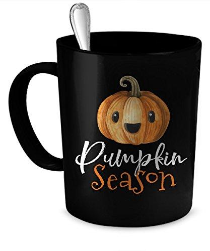 Pumpkin Coffee Mug 11 oz Pumpkin funny gift 11 oz black