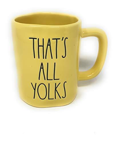 Rae Dunn by Magenta Easter Coffee Mug Thats All Yolks