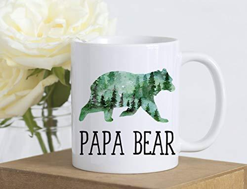 Papa Bear Coffee Cup  Papa Coffee Mug  Bear Coffee Mug  Grandpa Coffee Mug  Dad Coffee Cup  Fathers Day Gift  Papa Bear  Grandpa Cup