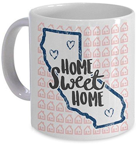 Home Sweet Home California Mug Coffee Cup Native State Resident Gift
