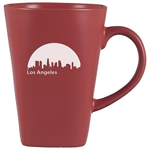 LXG Inc Los Angeles California-14 oz Ceramic Coffee Mug-Pink