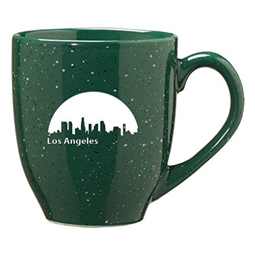 LXG Inc Los Angeles California-16 oz Ceramic Coffee Mug-Green