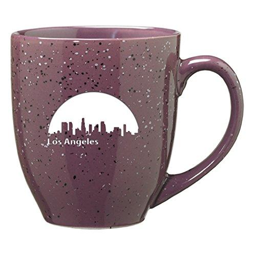 LXG Inc Los Angeles California-16 oz Ceramic Coffee Mug-Purple