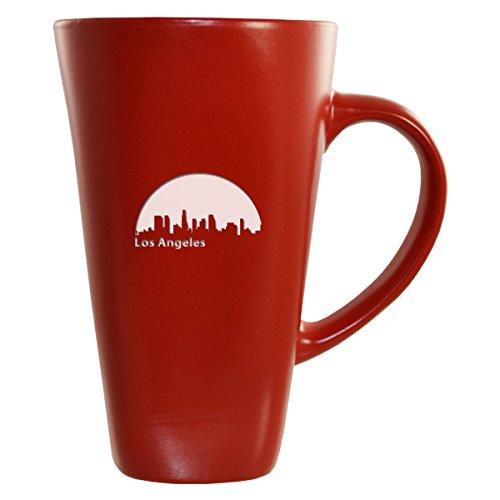 LXG Inc Los Angeles California-16 oz Ceramic Coffee Mug-Red