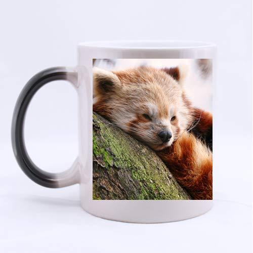 Cute Red Panda Custom Mug - Ceramic Morphing Mug - 11 OZ CoffeeTea Cup