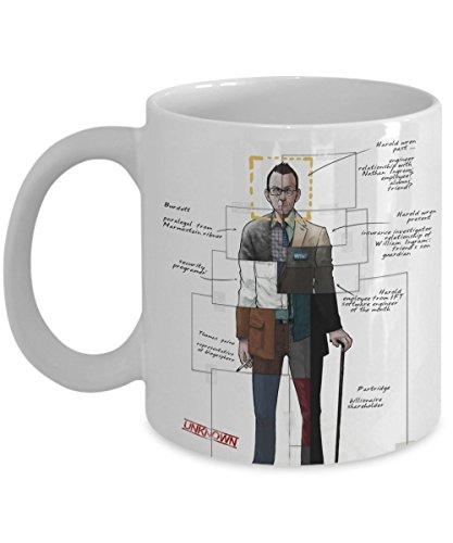 Funny Coffee Mug - Person of Interest Coffee Mug - Message Mug - 11OZ Ceramic Coffee Mug - Best Funny and Inspirational Gift - Have a Nice Day