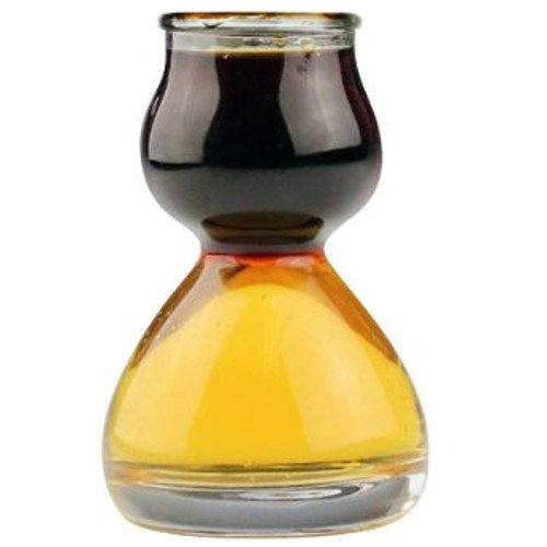 Quaffer Double-Bubble Shot Glass Glass Case of 36