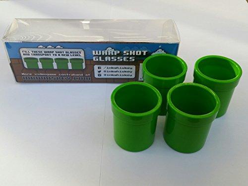 Warp Shot Glasses 4PK