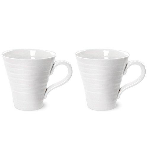 Portmeirion Sophie Conran White Mug Set of 2 035L