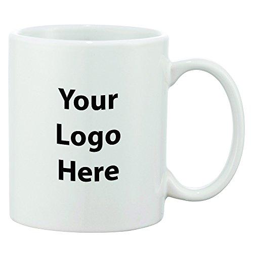 Bounty 11 Oz Ceramic Mug - 150 Quantity - 140 Each - PROMOTIONAL PRODUCT  BULK  BRANDED with YOUR LOGO  CUSTOMIZED