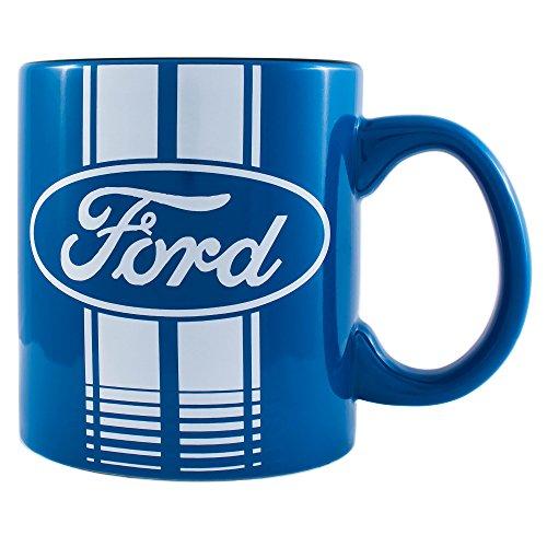 Silver Buffalo FO0134 Ford Blue Logo Ceramic Mug 20 oz Multicolor