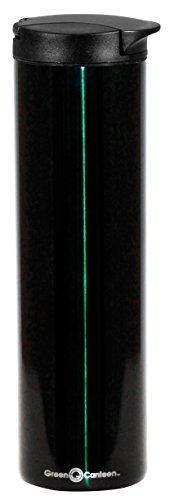 Green Canteen DWCM-7003-HG Stainless Steel Double Wall Coffee Mug 16 oz Hunter Green