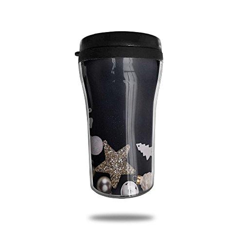 Star Double Wall Insulated Coffee Mug Travel Mug Cup