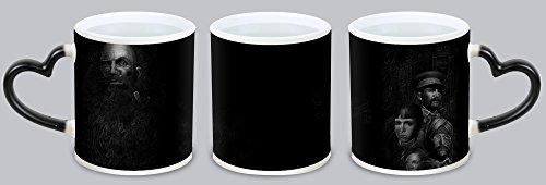 Call Of Cthulhu The Wasted Land Customized Design Black Mug Coffee Mug Creative Milk Mug Personalized Tea Cup