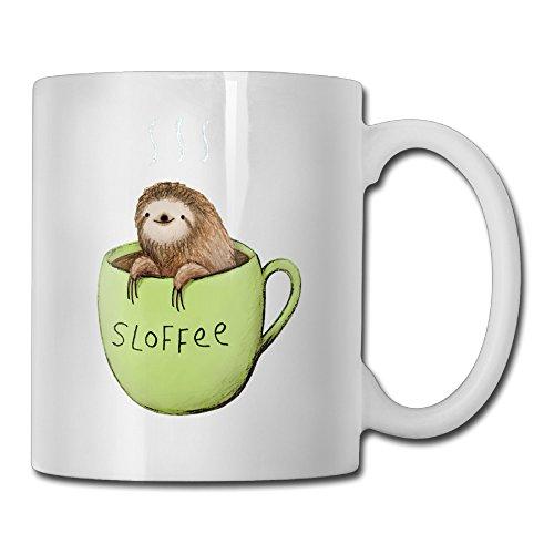Sloffee Funny Custom Mug 11oz Ceramic Coffee Mug Tea Mug Gift Mug