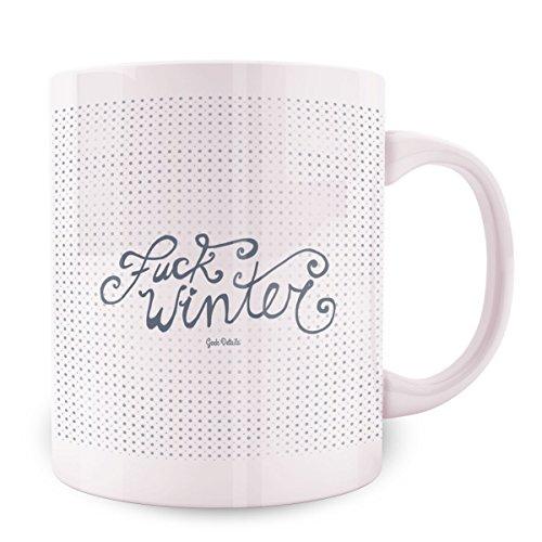 Geek Details Fuck Winter Coffee Mug 11 Oz White