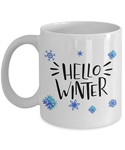 Hello Winter Coffee Mug-Novelty Coffee Cup-Great Gift