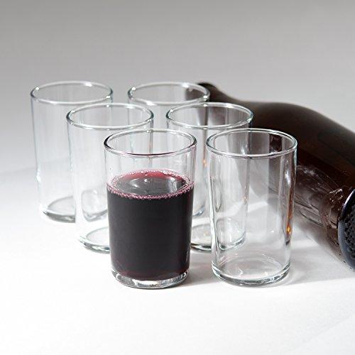 Italian Bàcaro Stemless Wine Glasses Gift Box Set of 6