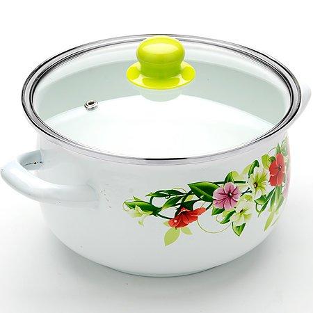 4.8 Liter Sauce Pot Enamel Casserole Pot 5.1-quarts Mayer & Boch Mb-23636