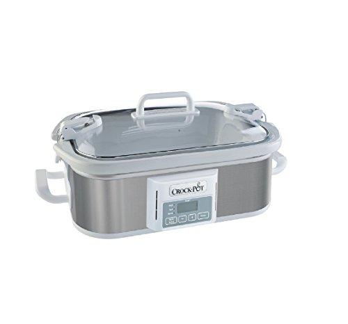 Crock-pot Programmable Casserole Crock Slow Cooker