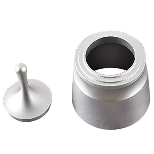 Motonupic Aluminum Alloy Smart Dosing Ring 58mm Coffee Tampering Espresso Barista Powder - Coffee Coffee Tampers Espresso Tamper Base Barista Nail Shell Stone Dose Pump Maker Cap