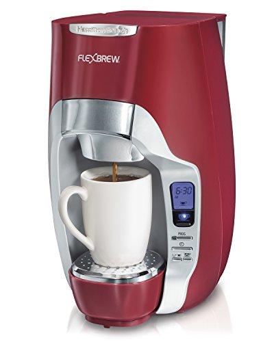 Hamilton Beach 49994 FlexBrew Programmable Single-Serve Coffeemaker Red