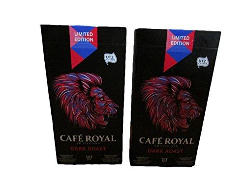 20 Cafe Royal Nespresso Style Coffee Pods - Swiss Coffee Dark Roast Limited Edition