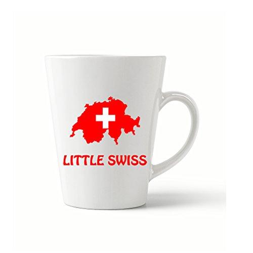 Style In Print Little Swiss Coffee Tea Ceramic Latte Mug 12 Oz