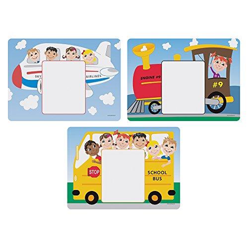 Hoffmaster 702085 Kids Menu Multipack Placemats 3 Designs per Case 8-12 x 11-58 Printed Pack of 1000