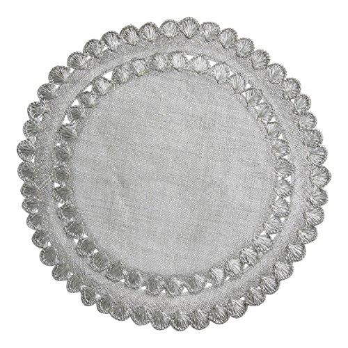 Juliska Isadora Silver Placemats set of 4