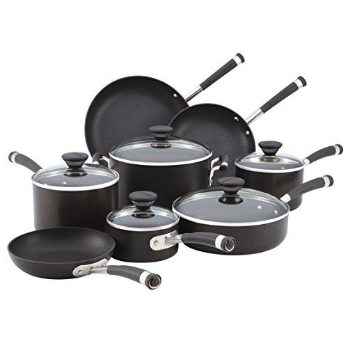 Circulon 83465 Acclaim 13-piece Cookware Set, Black