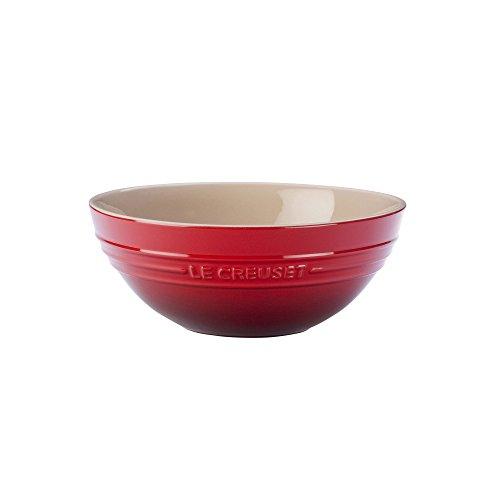 Le Creuset PG4100-2067 Stoneware Multi Bowl 17-Quart Cerise