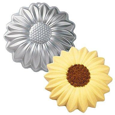 FMY Sunflower Shape Aluminum Cake Baking Tools Baking Pan Mold