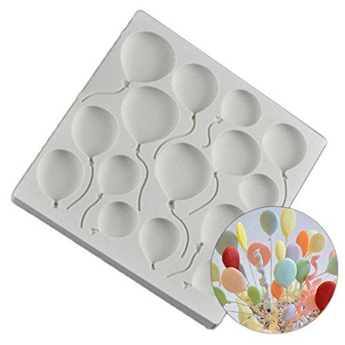 VWH Balloon Silicone Fondant Mold Cake Jelly Molds Kitchen Baking Tool Chocolate Mould Cake Baking Decorating Kits