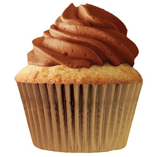 Cupcake Creations Jumbo Baking Cups-Gold