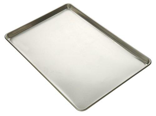 Focus Foodservice Commercial Bakeware 23-Gauge Glazed Finish Aluminum-Sheet Pan 14-Sheet