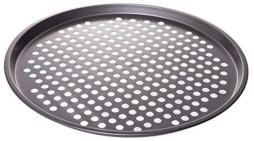 13 Nonstick Coating Carbon Steel Pizza Baking Pan - Crisper with Holes