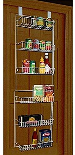 SmilingtreeStorage-Dynamics-5-Foot-Over-The-Door-Rack-Organizer-Kitchen-Pantry-Spice-Shelfkitchen organizer door
