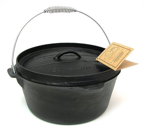 Cast Iron Camp Oven - 8 Quart