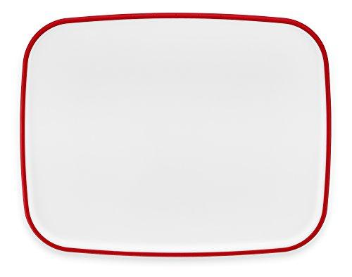 KitchenAid KKPRC1114SD Non-Slip Cutting Board Poly Signature Red