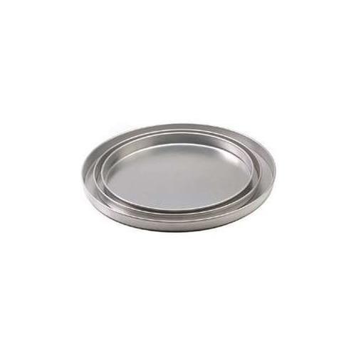 Royal Industries Pizza Pan Aluminum 1 Deep x 12 Diam Silver