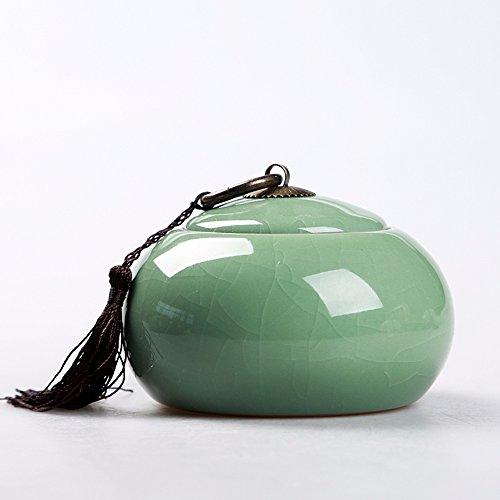 Chinese Ceramic tea caddy tins Tea set Tea service Canister Teapot box Sealed jar celadon pottery teapot