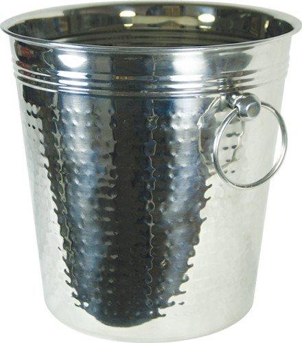 Grant Howard Hammered Stainless Steel Wine Bucket 5 Quart