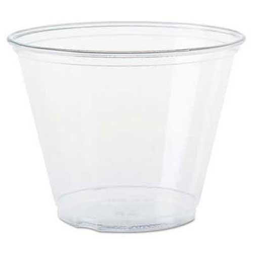 SOLO Cup Company Ultra Clear Cups Squat 9 oz PET 50Bag 1000Carton